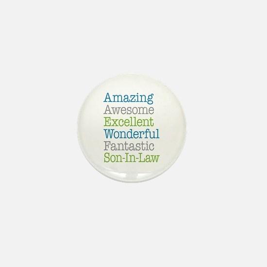 Son-In-Law Amazing Fantastic Mini Button