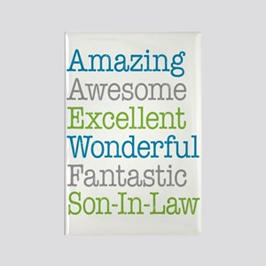 Son-In-Law Amazing Fantastic Rectangle Magnet
