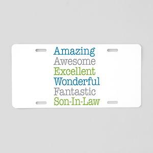 Son-In-Law Amazing Fantasti Aluminum License Plate