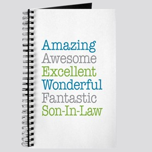 Son-In-Law Amazing Fantastic Journal