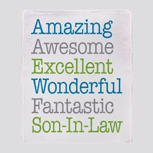 Son-In-Law Amazing Fantastic Throw Blanket