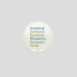Uncle - Amazing Fantastic Mini Button