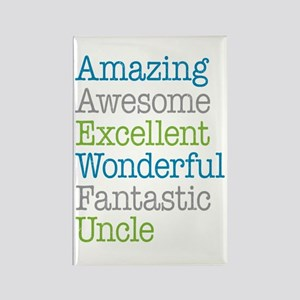 Uncle - Amazing Fantastic Rectangle Magnet