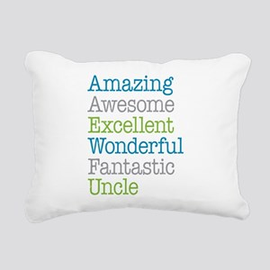 Uncle - Amazing Fantasti Rectangular Canvas Pillow