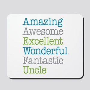 Uncle - Amazing Fantastic Mousepad