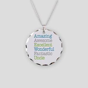 Uncle - Amazing Fantastic Necklace Circle Charm