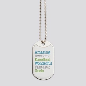 Uncle - Amazing Fantastic Dog Tags