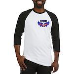 USN Heart Flag Baseball Jersey