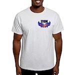 USN Heart Flag Light T-Shirt