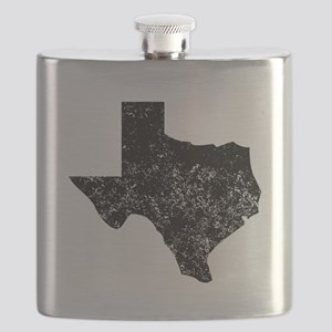 Distressed Texas Silhouette Flask