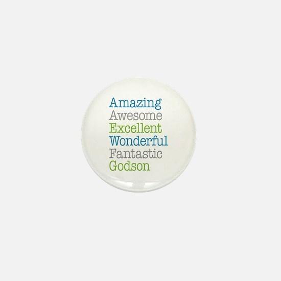 Godson - Amazing Fantastic Mini Button