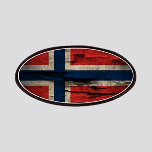 Flag of Norway Vintage Mulitiply Patches