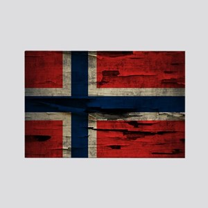 Flag of Norway Vintage Mulitiply Magnets