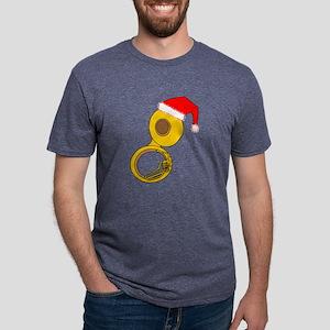 Santa Hat Tuba T-Shirt