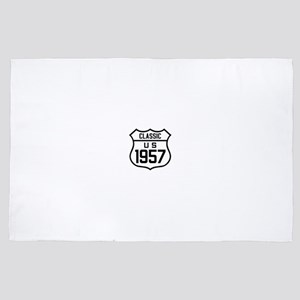 Classic US 1957 4' x 6' Rug