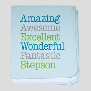 Stepson - Amazing Fantastic baby blanket