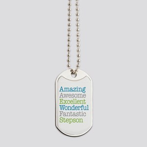 Stepson - Amazing Fantastic Dog Tags