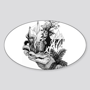 Swamp King Sticker