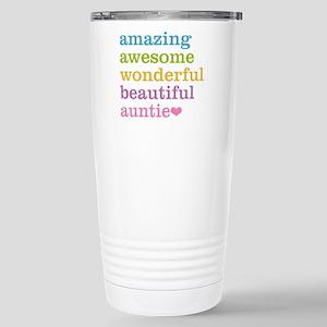 Auntie - Amazing Awesom Stainless Steel Travel Mug