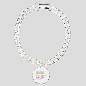 Auntie - Amazing Awesome Charm Bracelet, One Charm