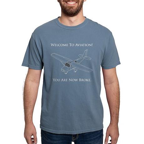 L'aviazione Ha Rotto Bianco Tex T-shirt NLSSL