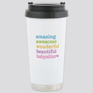 Babysitter - Amazing Aw Stainless Steel Travel Mug