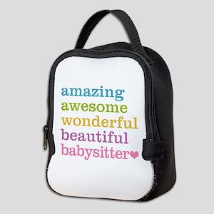 Babysitter - Amazing Awesome Neoprene Lunch Bag