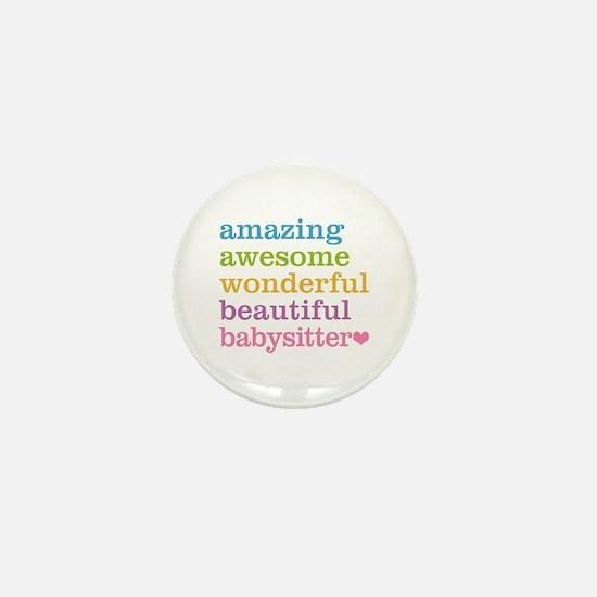 Babysitter - Amazing Awesome Mini Button
