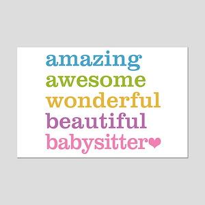 Babysitter - Amazing Awesome Mini Poster Print