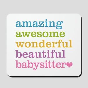 Babysitter - Amazing Awesome Mousepad