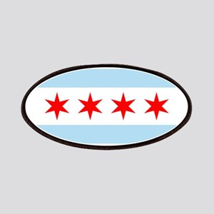 Flag of Chicago Stars and Stripes Patches