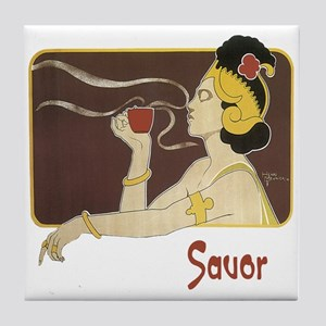 Savor Tile Coaster