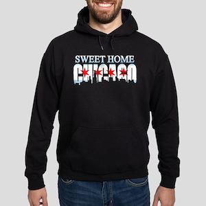Sweet Home Chicago Flag Skyline Hoodie