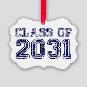 Class of 2031 Picture Ornament