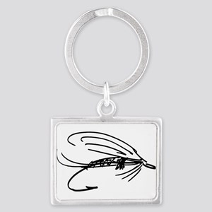 Abstract Wet Fly Lure Keychains