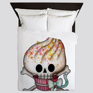 Skull Cupcake Queen Duvet
