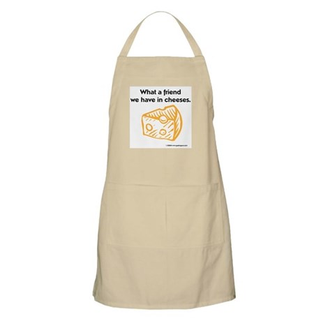 """Friend in cheeses"" BBQ Apron"