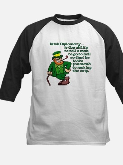 Irish Deplomacy Kids Baseball Jersey
