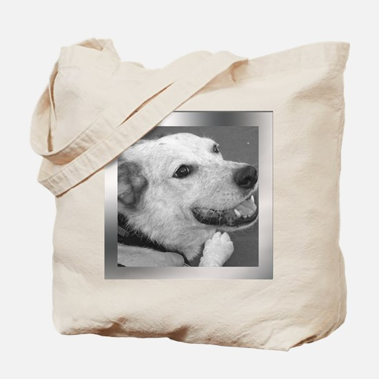 Your Photo in a Silver Frame Tote Bag