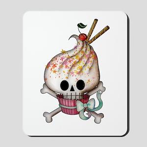 Skull Cupcake Mousepad
