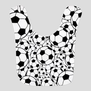 A gazillion soccer balls Bib