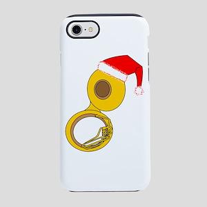 Santa Hat Tuba iPhone 7 Tough Case