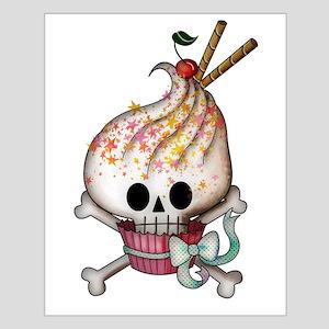 Skull Cupcake Posters