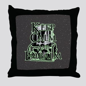 Keep Calm and Throw Pillow