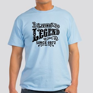 Living Legend Since 1972 Light T-Shirt