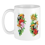 Tropical Toucans Mugs