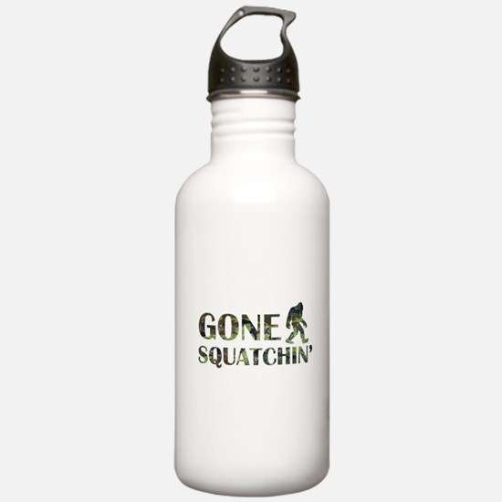 Gone Squatchin Camouflage Water Bottle