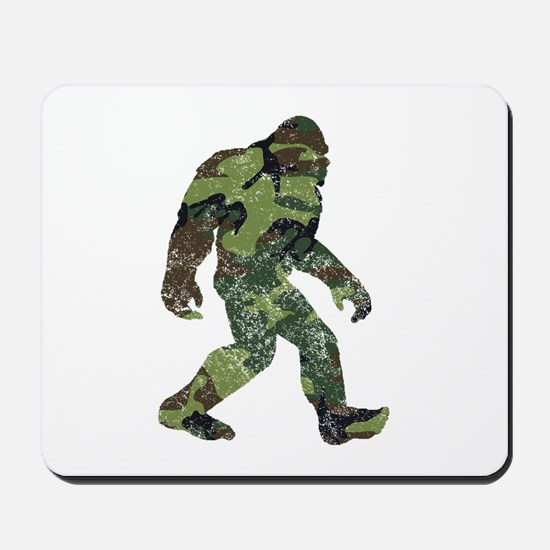 Camo Bigfoot Mousepad