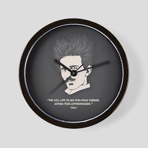 Tesla -Horrors Wall Clock