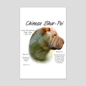 Chinese Shar-Pei Mini Poster Print